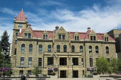 Calgary City Hall. The old stone city hall in Calgary Stock Photos