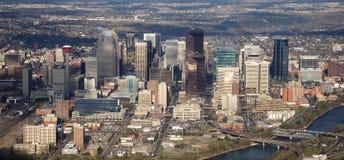 Calgary da baixa Foto de Stock