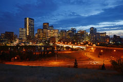 Calgary downtown Stock Image