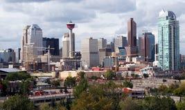 Calgary du centre Photos libres de droits