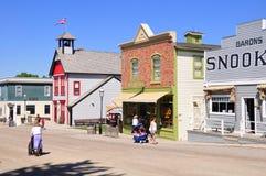 Calgary, Erbe-Park Lizenzfreie Stockbilder