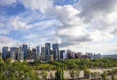 Calgary Flood of 2013 Royalty Free Stock Photo