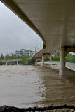 Calgary Flood 2013 Stock Image