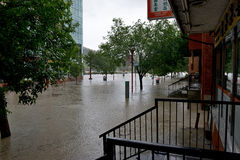 Calgary Flood 2013 Royalty Free Stock Photo