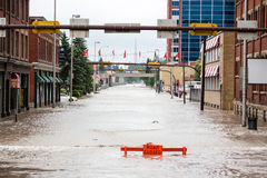 Calgary 2013 flood Royalty Free Stock Images