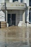 Calgary Flood 2013 Stock Image