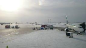 Calgary-Flughafen Stockbilder