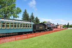 Calgary, Heritage Park Royalty Free Stock Image
