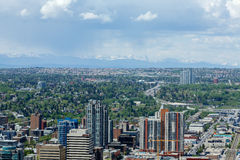Calgary horisont Arkivfoto
