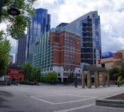 Calgary horisont, Alberta Canada Arkivbilder