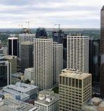 Calgary im Stadtzentrum gelegen Lizenzfreie Stockbilder