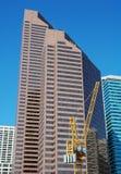 Calgary im Stadtzentrum gelegen Stockfotos