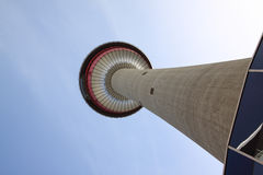 Calgary-Kontrollturm Stockfoto