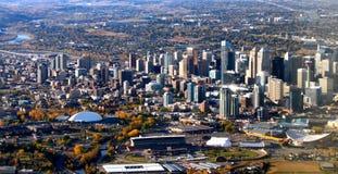 Calgary linia horyzontu Fotografia Royalty Free