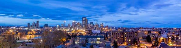 Calgary linia horyzontu Obrazy Royalty Free