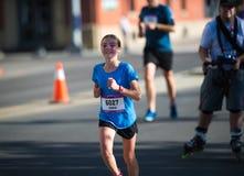 Calgary Marathon ScotiaBank 2018. 10,000 athletes stock image