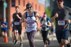 Calgary Marathon ScotiaBank 2018. 10,000 athletes stock photos
