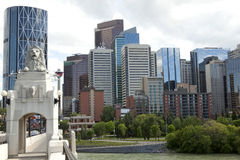 Calgary miasto, Kanada fotografia royalty free