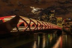 Calgary at night Stock Images