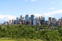 Calgary office buildings Stock Image