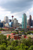 Calgary office buildings Stock Photo
