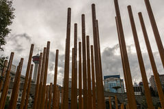 Calgary parkt 100. Jahrestag installieren Lizenzfreies Stockfoto
