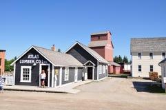 Calgary, parque de la herencia Imagen de archivo