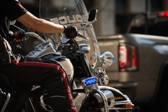 Calgary-Polizei die Stadt von Calgary lizenzfreies stockbild