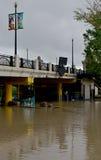 Calgary powódź 2013 Fotografia Royalty Free