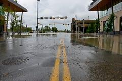 Calgary powódź 2013 Zdjęcie Royalty Free