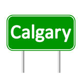 Calgary road sign. Stock Image