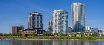 Calgary's east village skyline Stock Photography
