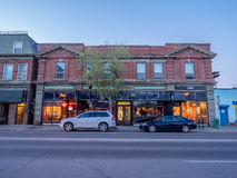 Calgary's Inglewood district Royalty Free Stock Photos