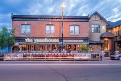 Calgary's Kensington area Royalty Free Stock Photography