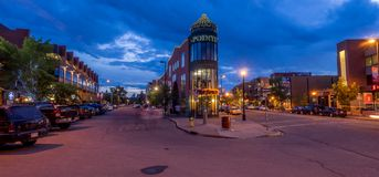 Calgary's Kensington area Stock Image