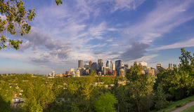 Calgary's skyline Stock Photos
