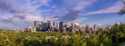 Calgary's skyline Stock Photo