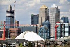 Calgary's urban jungle Royalty Free Stock Image