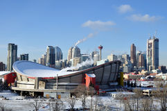 Calgary Saddledome Royalty Free Stock Photos