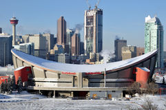 Calgary Saddledome Fotografie Stock