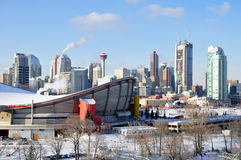Calgary Saddledome Royalty Free Stock Photography