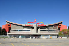 Calgary Saddledome royalty free stock photo