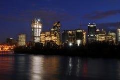 Calgary Skyline Royalty Free Stock Photography