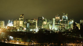 Calgary skyline Stock Images