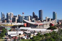 Calgary-Skyline Stockbilder