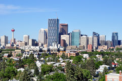 Calgary Skyline Royalty Free Stock Photo