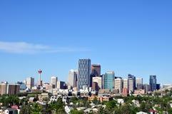 Calgary-Skyline Stockfotografie