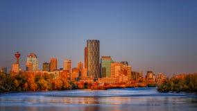 Calgary-Skyline Lizenzfreies Stockbild