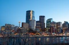 Calgary-Skyline Stockfoto