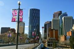Calgary-Skyline Lizenzfreie Stockfotografie